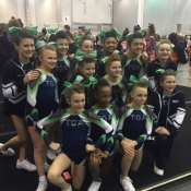 Tidewater Gymnastics Academy Program Image for All-Star Cheerleading